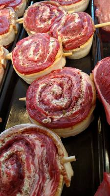 Flank Steak Pinwheel
