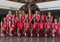 Fresno State team with Katelin Noyer in #5
