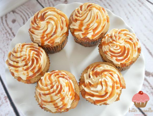 butter + vanilla baked goods, calgary bakery, calgary cupcakes, salted caramel, salted caramel cupcakes