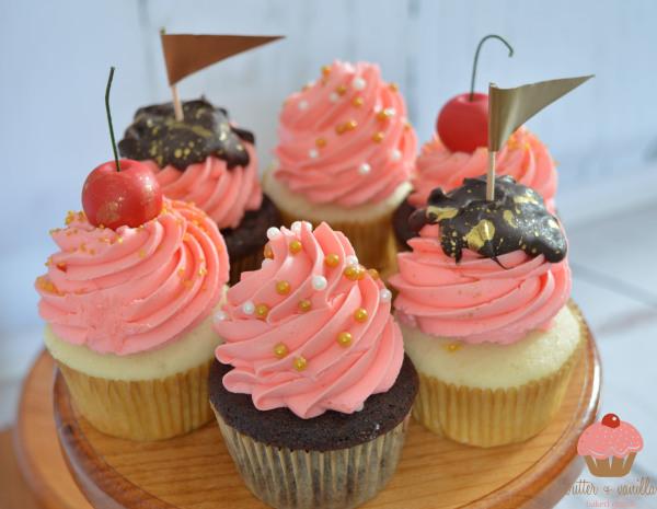 butter + vanilla baked goods, calgary bakery, calgary cupcakes, wedding cupcakes