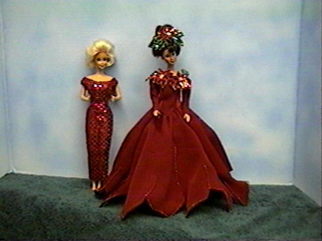 """Festive Femmes"", Christmas and New Years,  #3002  $11.95"