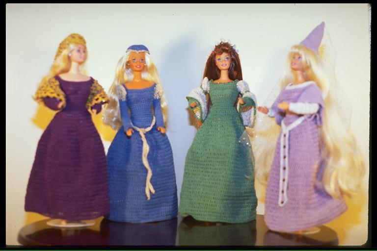 """""""Medieval Princess"""", 4 views,   #7601   $9.95"""