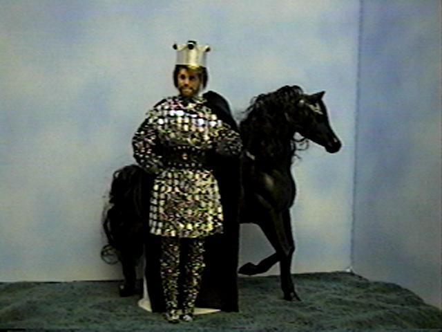 """""""King Arthur & Sir Kenneth"""", View A , #5601   $13.95"""