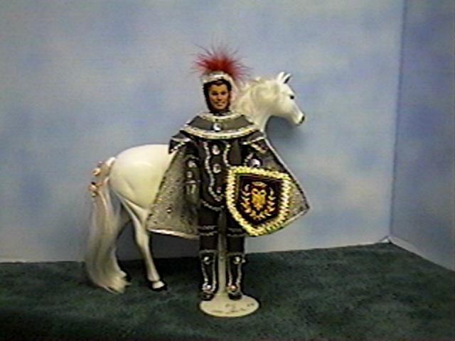 """""""King Arthur & Sir Kenneth"""", Sir Kenneth, #5601   $13.95"""