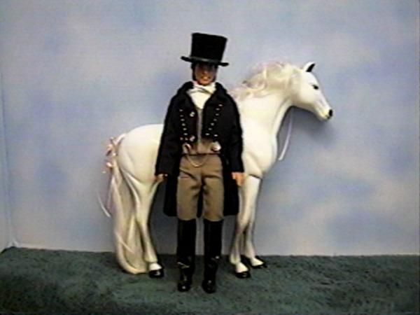 """1812"" ,  equestrian,  #5801  $13.95"