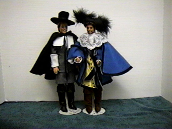 """Charles Rex"", Pilgrim and Cavalier  #5501  $15.95"