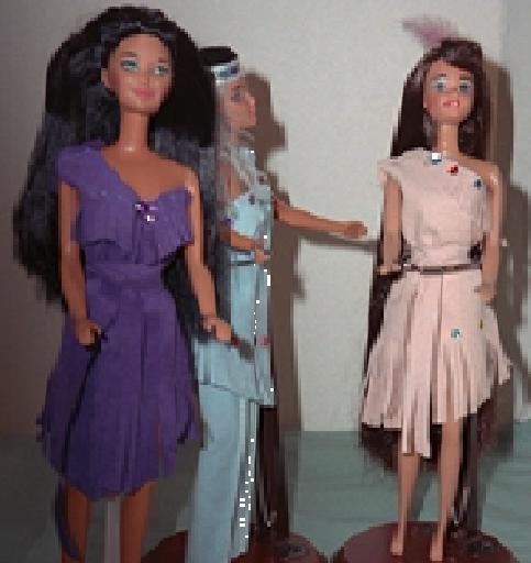 """""""Pocahontas"""", 3 views, #1102  $9.95"""