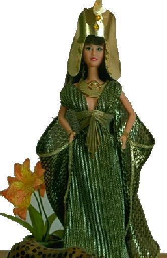 """""""Cleopatra"""", View B (Isis), #0701  $11.95"""