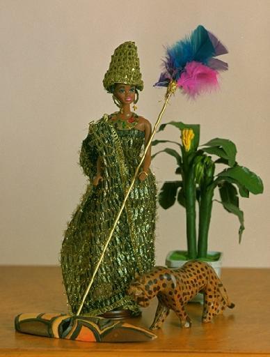 """Nigerian Princess"", View A  #0703  #10.95"