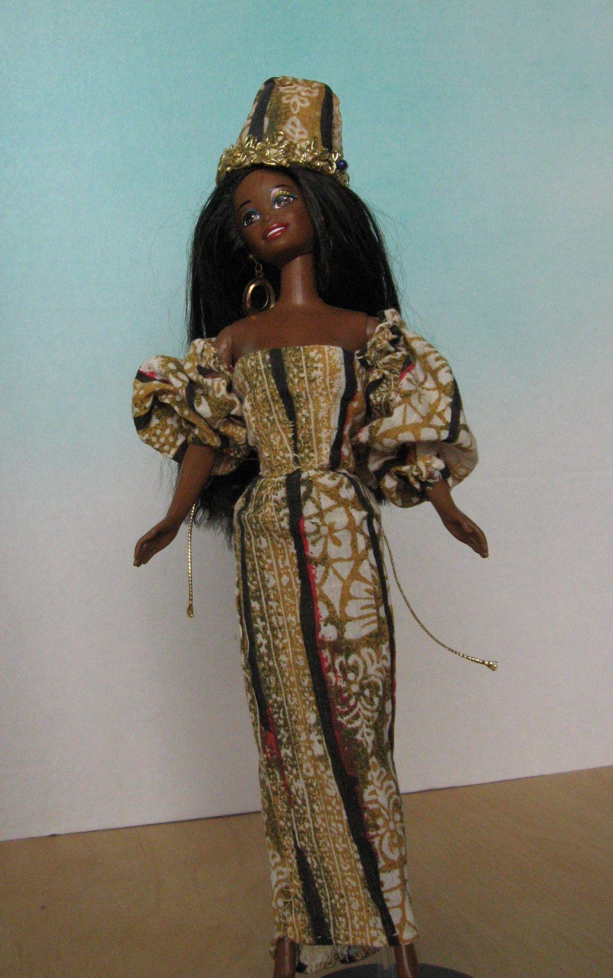 """Bantu Princess"", View B, #0705   $10.95"