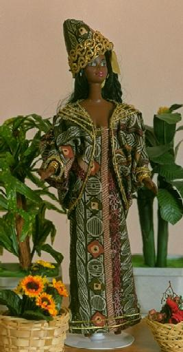 """Nigerian Princess"", view B, #0703  $10.95"