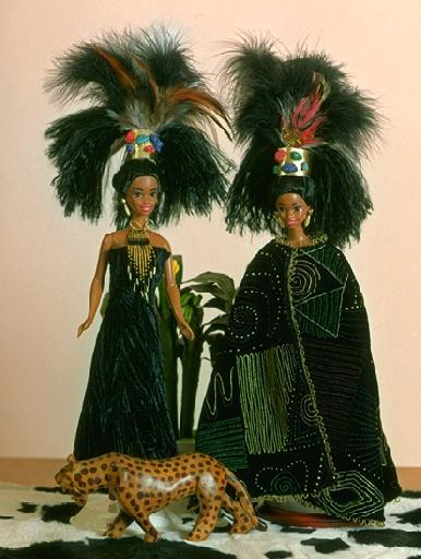 """Zulu Princess"", View A (caped), #0704   $11.95"