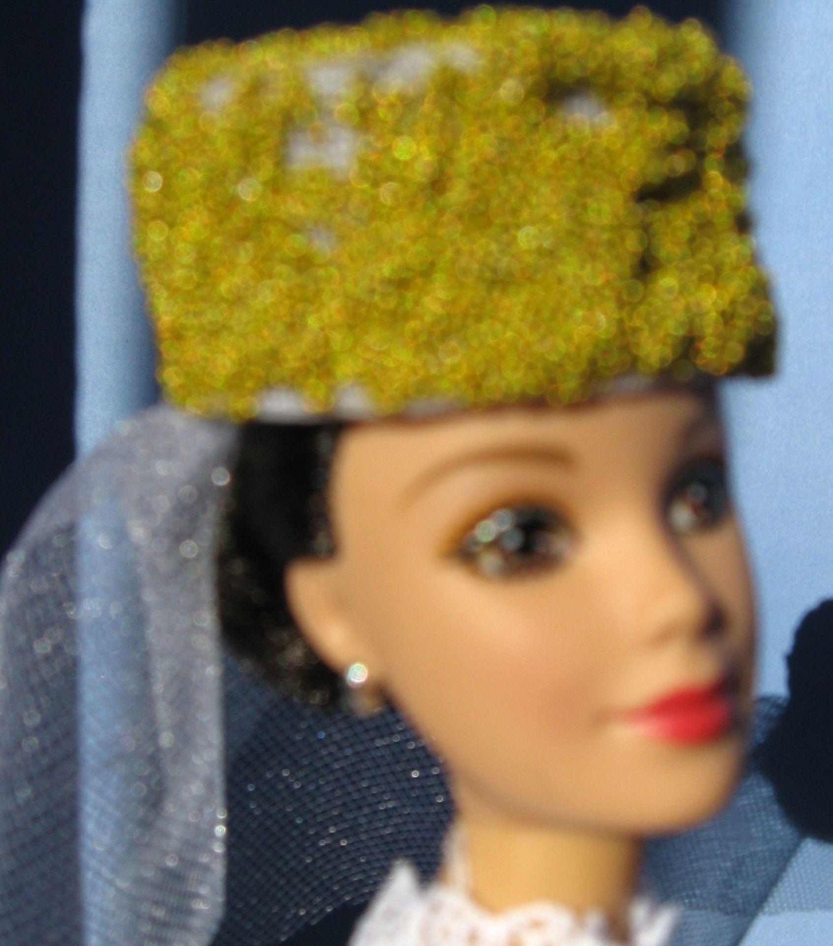 """""""Shakespeare Chic"""", Pillbox and veil #0159  $10.95"""