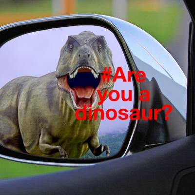 Twitter hashtag dinosaur