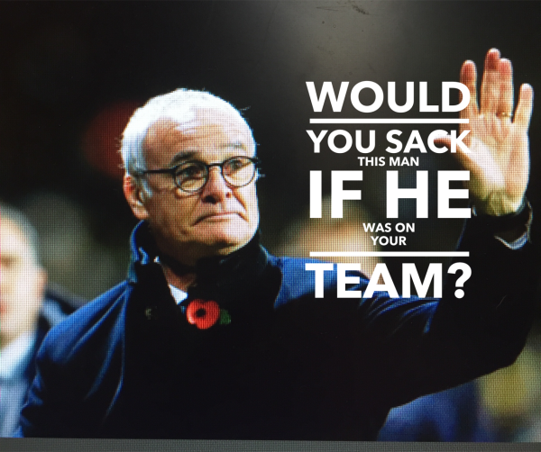 If Claudio was on your team, would you fire him?