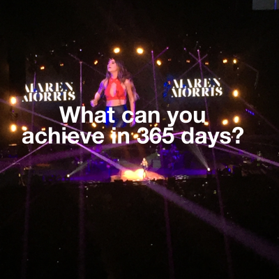 Just how far can you get in 365 days and how are you going to get there?
