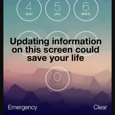PLEASE READ THIS - The inbuilt iPhone app that might save your life!