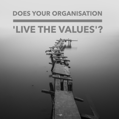 Living the Values - Do You?
