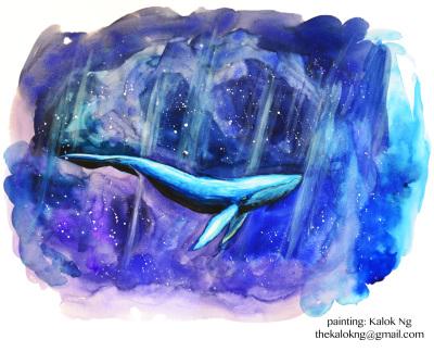 Beautiful painting by Kalok Ng.  Email: thekalokng@gmail.com