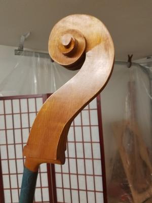 Scroll during varnish process