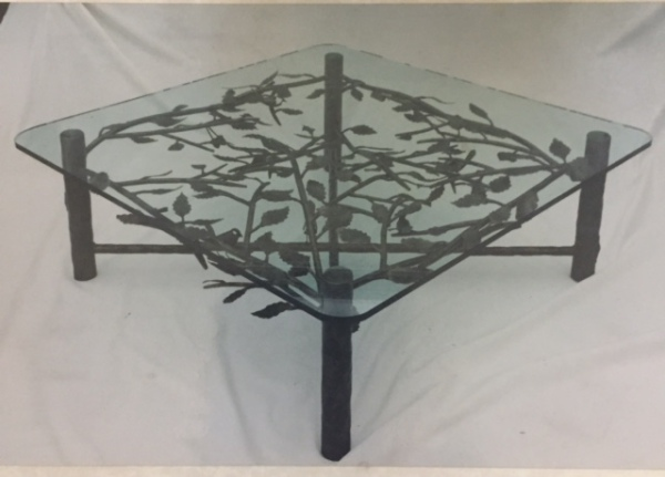 Oak Leaf Coffee Table