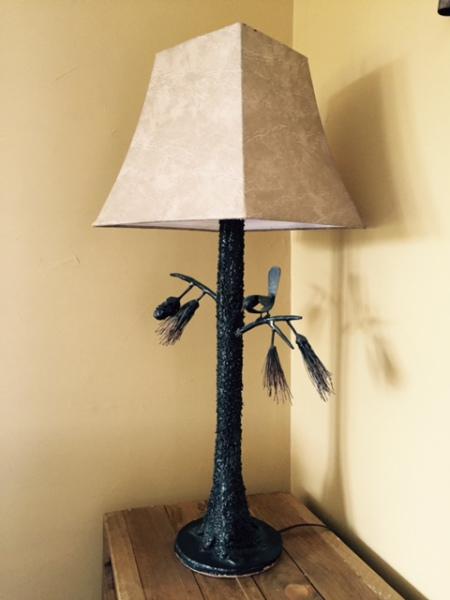 Pine Tuft Lamp