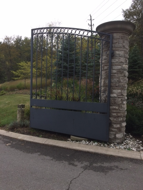 Winery Gates