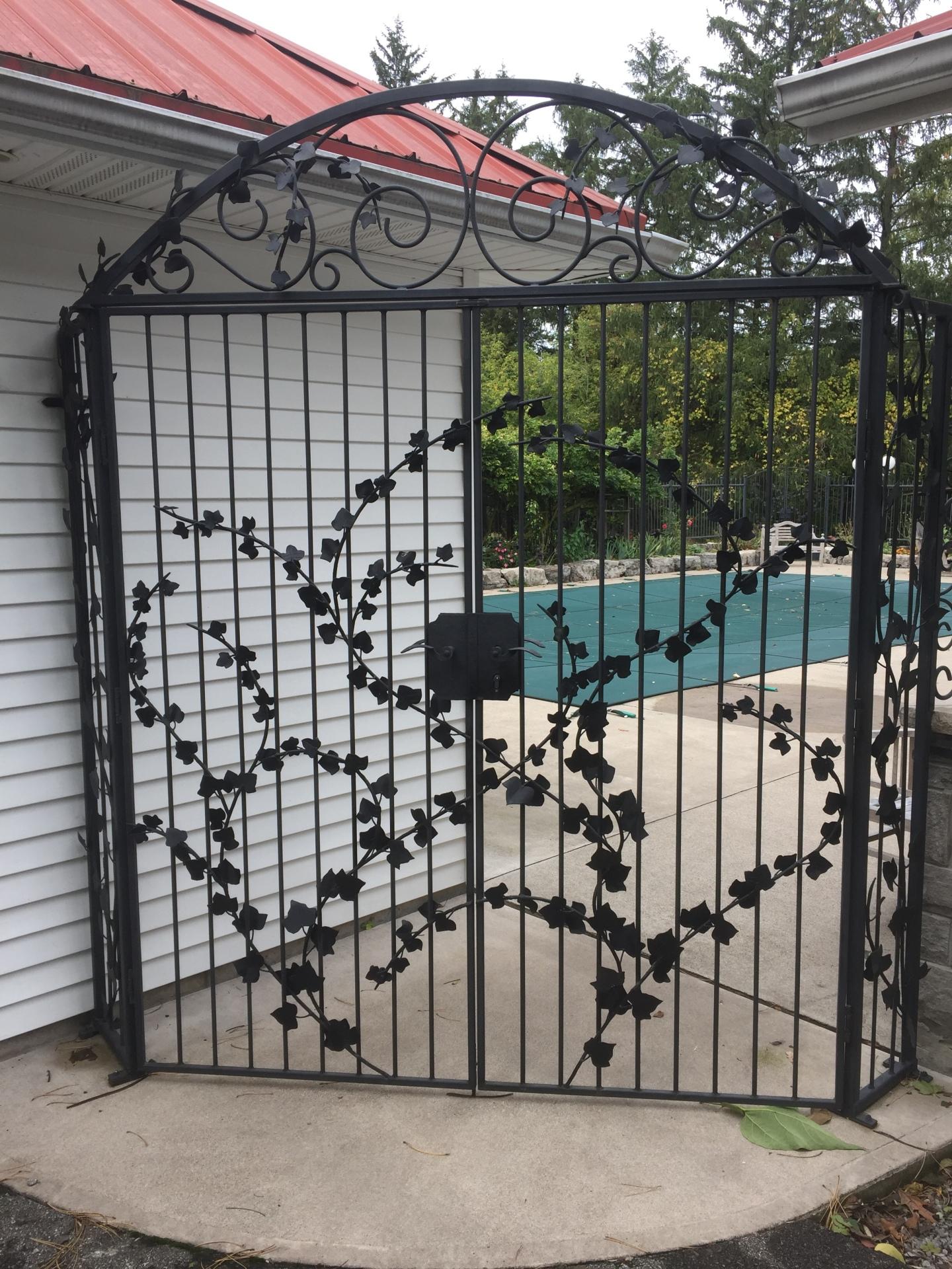Ivy Leaf Gates