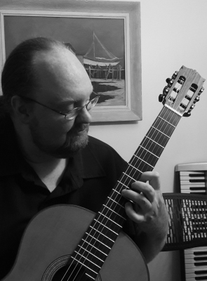 Classical Guitarist Steven Morgan