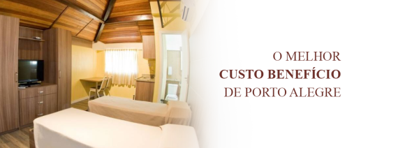 Hotel no centro de Porto Alegre