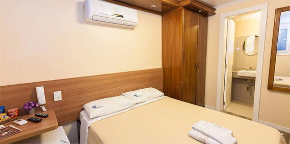 Apartamento Standard - Hotel Gonçalves - Porto Alegre/RS
