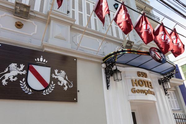 Fachada Hotel Gonçalves