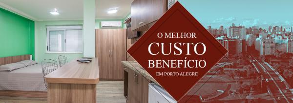 Hotel com o melhor custo-benefício em Porto Alegre
