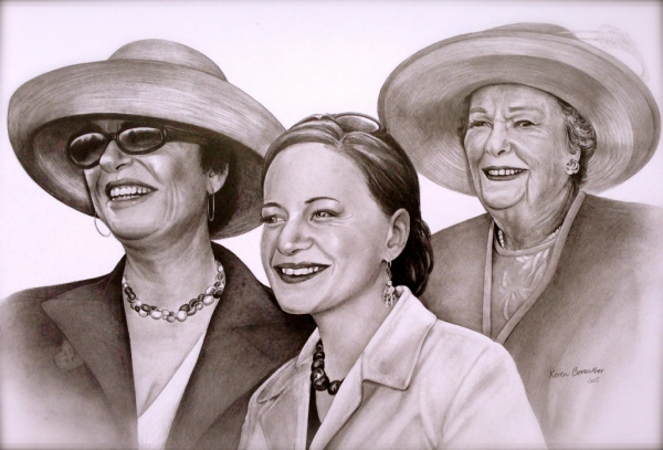 A day at the races, pencil