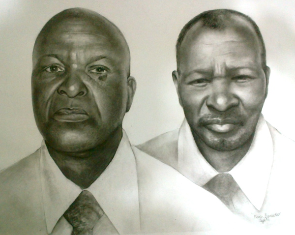 Brothers, pencil