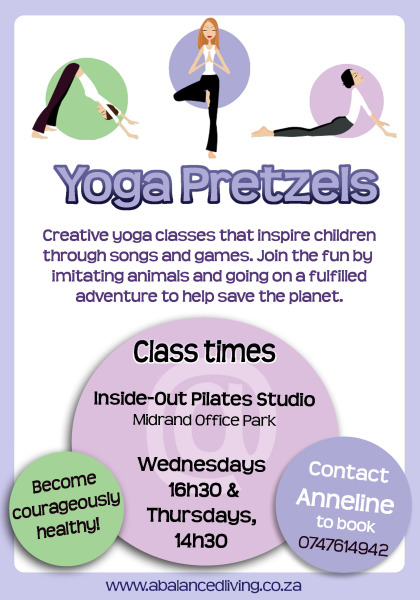 Yoga Pretzels Flyer