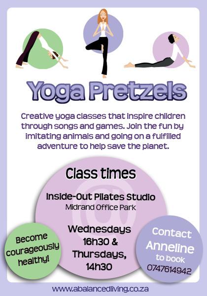 Yoga Pretzels Flyer