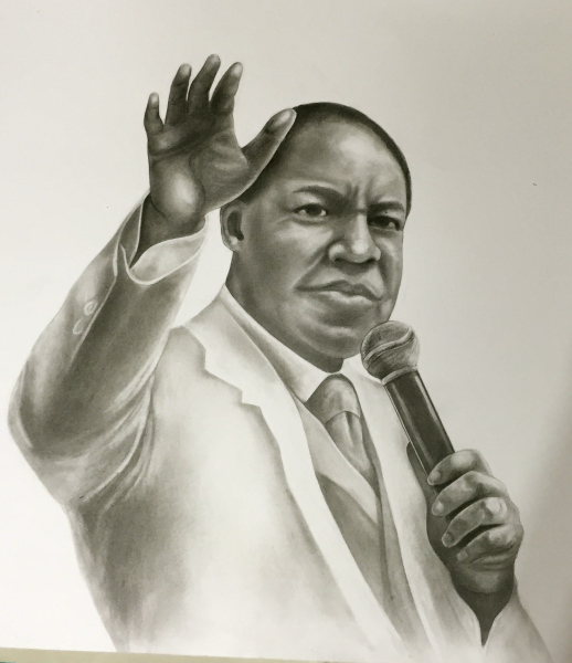 Pastor Chris Oyakhilome, pencil