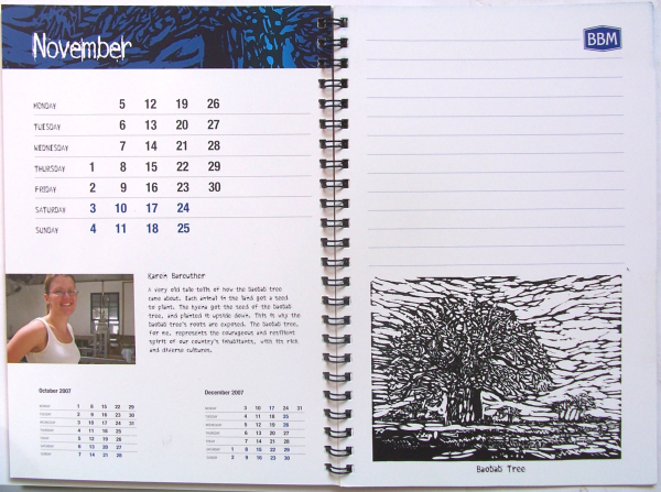 The Art of Law Calender
