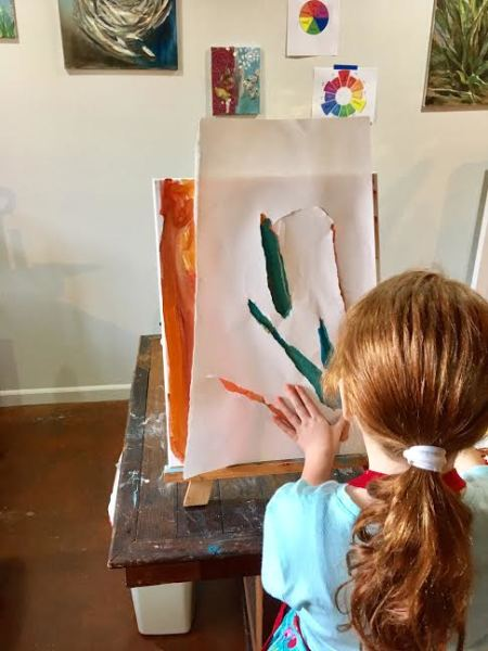 DAY 1:Winter Painting Camp