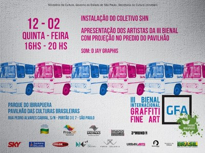 Bienal internacional de Graffiti - Parque do Ibirapuera - SP 2015