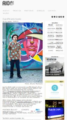 Rio Etc - Jornal o GLobo