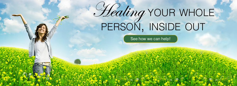 the goal is to heal a person from the inside out