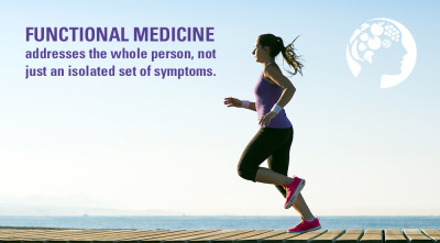 functional medicine addresses the whole person, not just the symptoms
