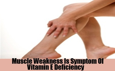muscle weaknesses/ antioxident deficient