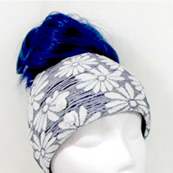 BLUE AND WHITE FLORAL $22.00