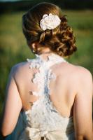 Custom, Lace Racer-Back,  Gown, Alencon lace, racer back wedding dress, matte gown, silk hemp, texture