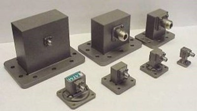 Waveguide To Coaxial Right Angle Adapters