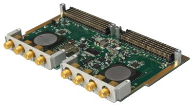 DWF-Qxx: Quad 1-2 Gsps, 12-bit ADC FMC