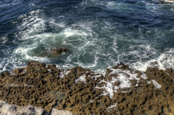 Water Among Rocks